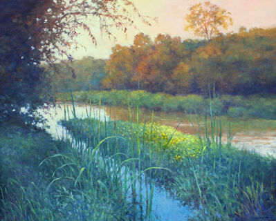 Thomas McNickle, 'BULLRUSHES-NEWPORT LAKE', 2020
