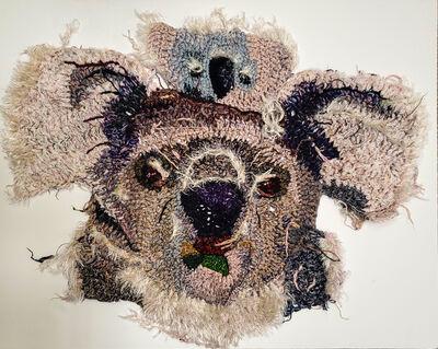 Katika, 'Koala single mother with a child', 2016