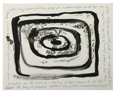 Karen Finley, 'Psychic Portrait (Robert F. Kennedy)', 2015