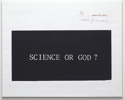 Neil Jenney, 'Science or God?', 2000