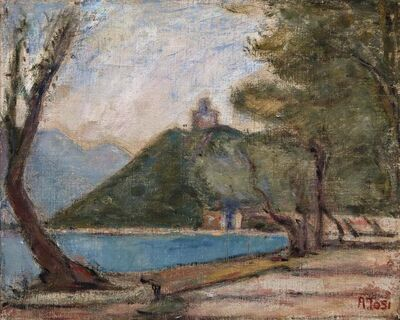 Arturo Tosi, 'Lake Iseo', executed in 1932