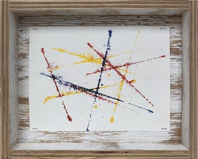 G.T. Pellizzi, 'Snap Lines in Red, Yellow, and Blue (Study 2)', 2016