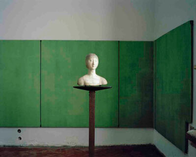 Armin Linke, 'Carlo Scarpa, Palazzo Abatellis, Room with Bust of a Gentlewoman, Palermo Italy', 2015