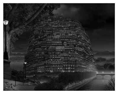 Eric de Ville, 'Babel en Black and Night, 02/2017', 2017