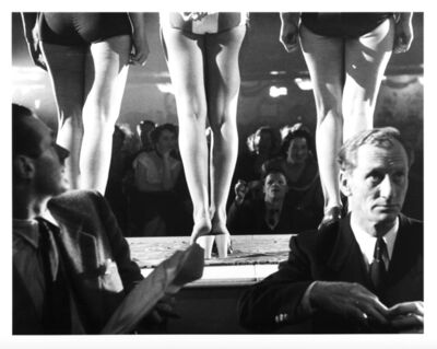 Thurston Hopkins, 'Backstage At The 'Miss World' Contest, London', 1953