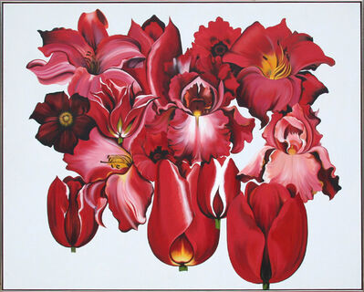 Lowell Nesbitt, 'Island of Red Flowers', 1979