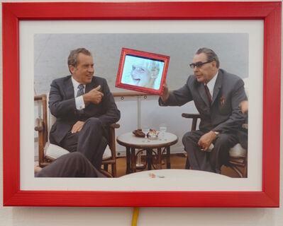 Daniel Cherbuin, 'Eis Zeit (Nixon/Breschnew)', 2014