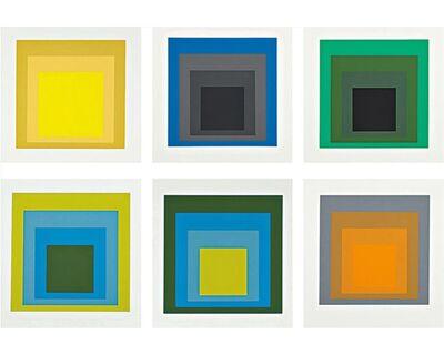 Josef Albers, 'Formulation: Articulation I & II', 1972