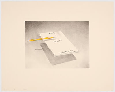 Ed Ruscha, 'Real Estate Opportunities', 1970