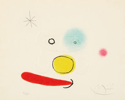 Joan Miró, 'Le bijou (The Jewel)', 1966