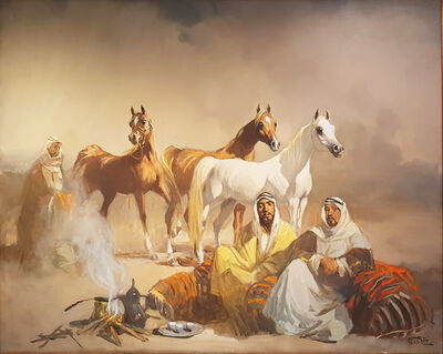 Faiq Hassan, 'Untitled', 1988