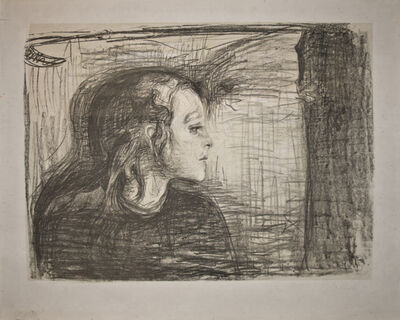 Edvard Munch, 'Det syke barn I (The Sick Child I)', 1896