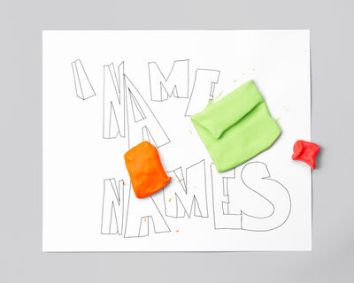 Jeanie Riddle, 'NAME NAMES', 2015-2016
