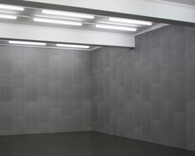 Stefan Brüggemann, 'CONCEPTUAL DECORATION (WALLPAPER WHITE ON BLACK)', 2009