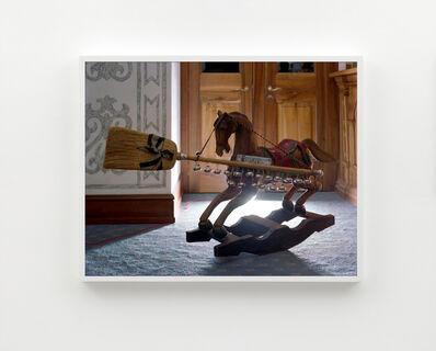 Torbjørn Rødland, 'Horse and Broom', 2019