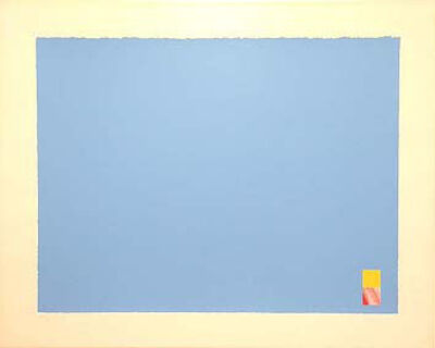 Marc Vaux, 'Untitled (Blue)', 1971