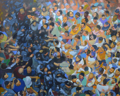 Khaled Hourani, 'Dispersed Crowds', 2019