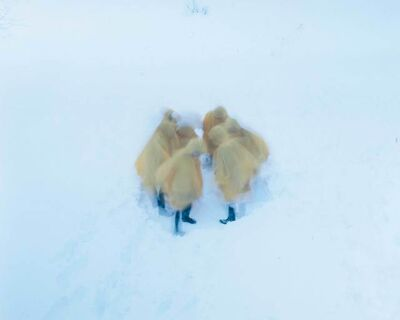 Osamu Yokonami, 'Assembly Snow 5 ', 2015