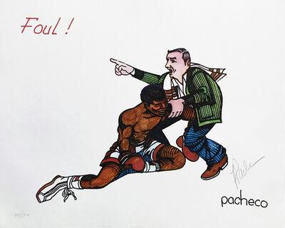 Ferdie Pacheco, 'FOUL! (MUHAMMAD ALI)', ca. 1980