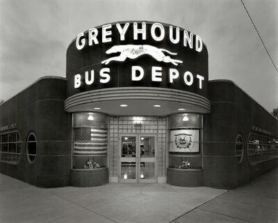 Timothy Rice, 'Greyhound Depot, Huntington, WV', 1998