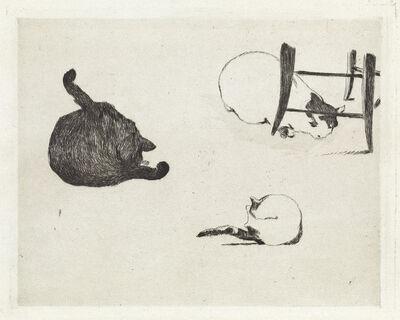 Édouard Manet, 'Les Chats.', 1868-69