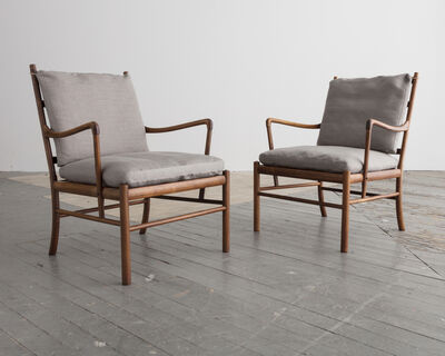 Ole Wanscher, 'Pair of 'Colonial' Chairs, PJ 149', 1949