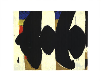 Robert Motherwell, 'Elegy to the Spanish Republic No. 34', 1991