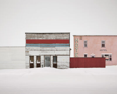David Burdeny, 'Railway and Main, Saskatchewan, CA', 2020