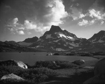 Ansel Adams, 'Banner Peak, Thousand Island Lake', 1923