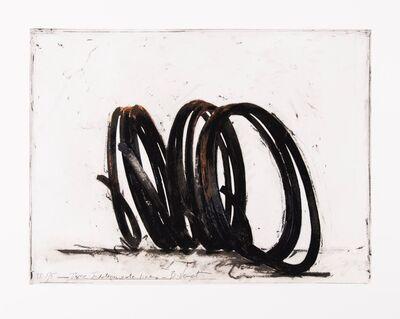 Bernar Venet, 'Three Indeterminate Lines', 2020