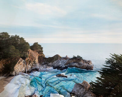 Laura Plageman, ' Response to Print of McWay Falls, California', 2013