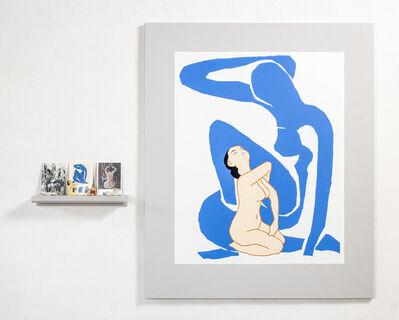 Elsa Zambrano, 'Blue Nude - Matisse', 2020