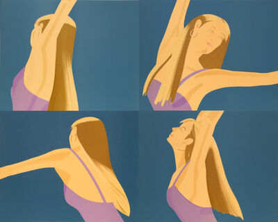 Alex Katz, 'Night: William Dunas Dance (Pamela) Suite', 1983