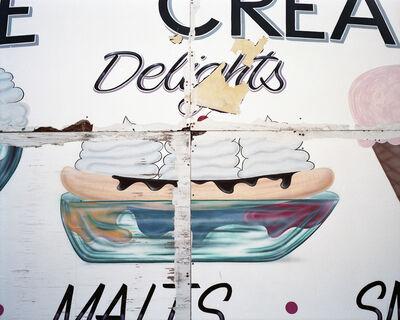 Lisa Kereszi, 'Ice Cream Delights sign, Wildwood, NJ', 2010