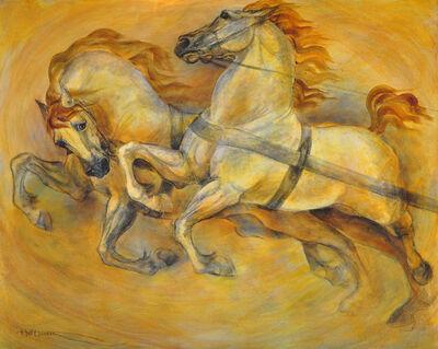 Marilyn Hoff Hansen, 'Chariot Horses', ca. 2017