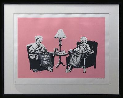 Banksy, 'Grannies signed', 2006