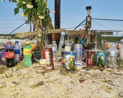 Wesaam Al-Badry, 'A Roadside memorial for a deceased farmworker family', 2020