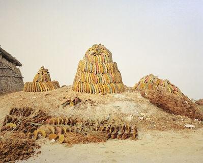 Vasantha Yogananthan, 'Anniversary Cake Ayodhya, Uttar Pradesh, India ', 2013 (painted in 2020)