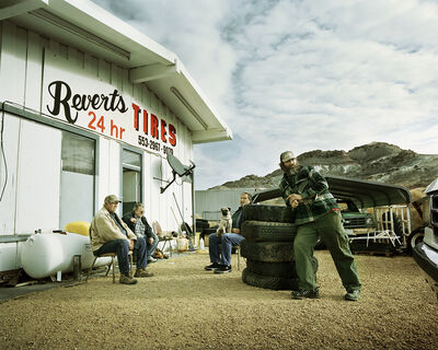 Pamela Littky, 'Reverts Tires', 2009-2012