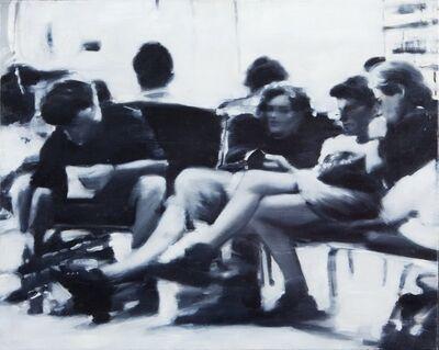 Daniele Galliano, 'Aspettando l'aereo', 1993