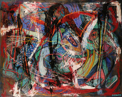 Rolph Scarlett, 'Untitled (Abstract)', ca. 1950