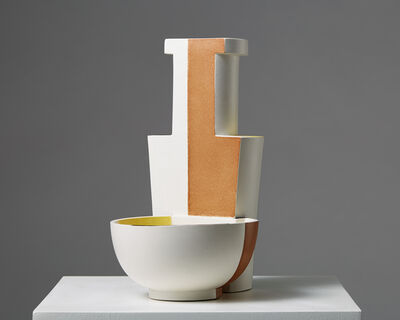 """Wilhelm Kåge, 'Vase/bowl """"Surrea""""', 1940"""