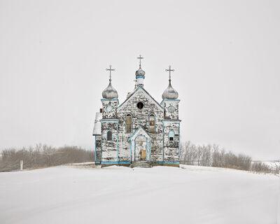David Burdeny, 'Church on a Hill, Saskatchewan, CA', 2020
