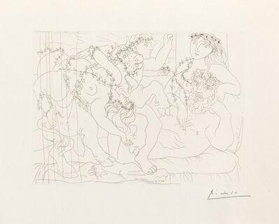 Pablo Picasso, 'Sculptur, Garçon et Modèle avec un Groupe Sculpté Représentant le Rapt d'Europe', March 30-1933