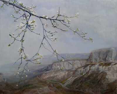 Gelena Pavlenko, 'A Plum Tree Blooming', 2014