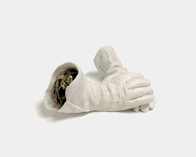 Marielle Plaisir, 'The gloves of the little worker...', 2019