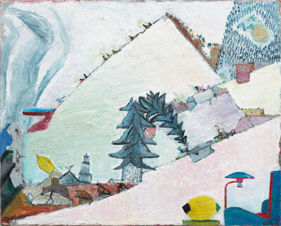 Walter Libuda, 'Warmschnee', 2015