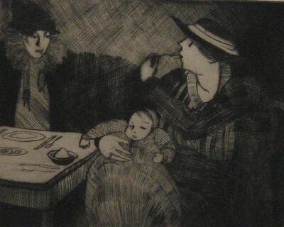 Peggy Bacon, 'Ice Cream', 1918