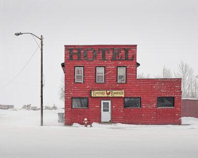 David Burdeny, 'Red Hotel, Saskatchewan, CA', 2020