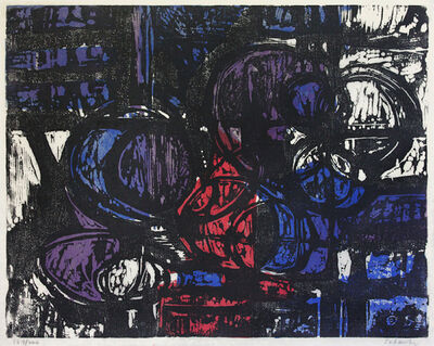 Louis Schanker, 'Circle Image No.25', 1952